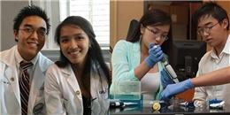 Chị em sinh đôi gốc Việt nhận học bổng tiến sĩ y khoa năm 18 tuổi