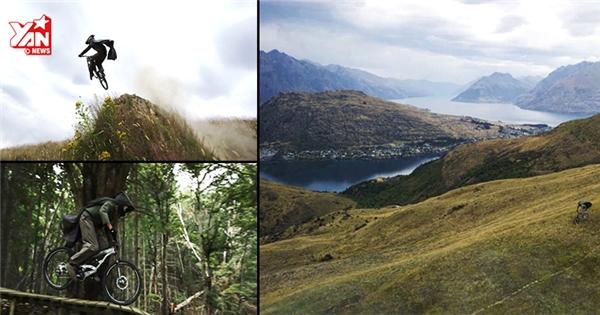 Đi xe đạp địa hình qua vùng đất đẹp như tranh của người Hobbit