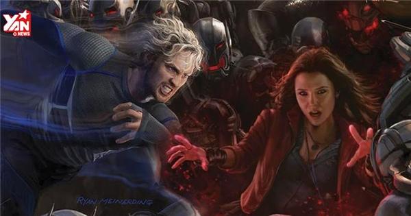 Hé lộ nhân vật mới cực mạnh trong Avengers 2