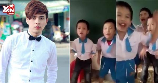 Bất ngờ với các bé học sinh lớp 1 thuộc làu hit của Hồ Quang Hiếu