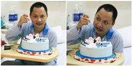 Nhạc sĩ Nguyễn Hải Phong 'trải nghiệm' lần đầu ăn sinh nhật tại bệnh viện