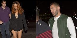 Hẹn hò Rihanna, Benzema đụng mặt Chris Brown