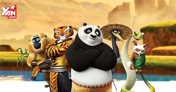 """Gấu Po quyết """"bung lụa"""" trong """"Kung Fu Panda 3"""""""