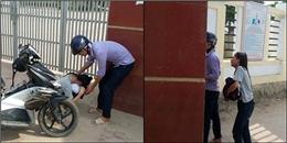 Đau lòng trước câu chuyện của nữ sinh Hà Tĩnh khóc như mưa trước cổng trường