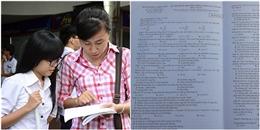 Nóng: Trường Sa vào đề thi Lý, nhiều tính đánh đố