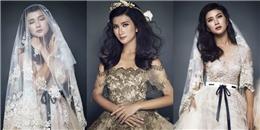 Cô dâu Kim Tuyến khoe vẻ đẹp kiêu kỳ khiến bao người ngẩn ngơ