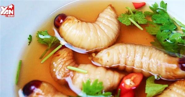 """Những món ăn """"hãi hùng"""" nhất Việt Nam"""