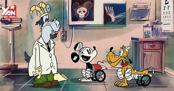 Chú chuột Mickey cách đây 50 năm trông như thế nào?