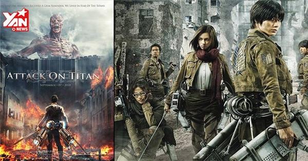 """""""Attack on Titan"""" tổng """"tấn công"""" khiến người hâm mộ điêu đứng"""