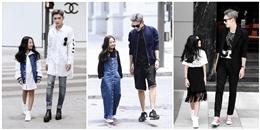 """Street style hút mắt của cặp đôi """"anh trai, em gái"""" Việt siêu đáng yêu"""