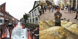 Choáng với loạt tranh 3D đường phố ảo mà như thật