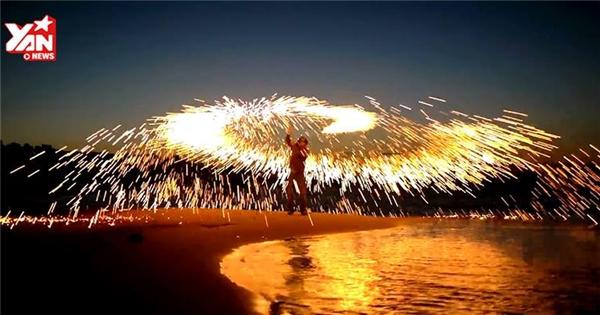 Màn biểu diễn pháo hoa nguy hiểm nhất trong năm