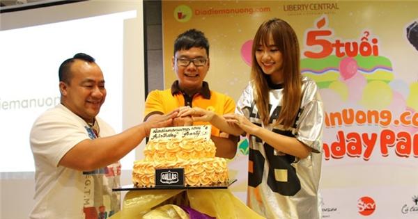 Hari Won hào hứng khi trở thành đại sứ cho Địa Điểm Ăn Uống