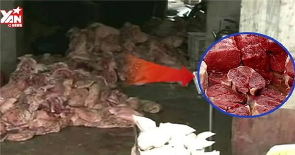 Sự thật kinh hoàng về thịt bò thối gây sốc