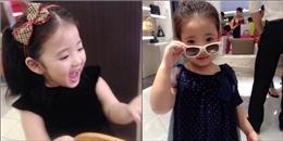 'Chết mê chết mệt' trước bé gái 3 tuổi xinh như thiên thần