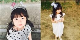 Ngẩn ngơ trước vẻ đẹp như thiên thần của cô bé lai Hàn - Nhật
