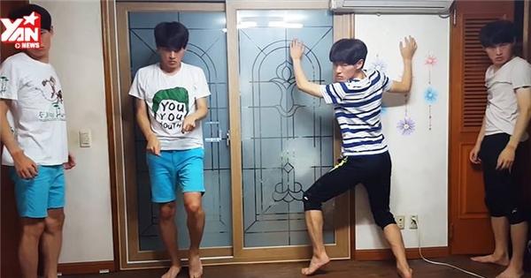 """Cười hết cỡ với anh chàng cover Kpop """"siêu bựa"""""""