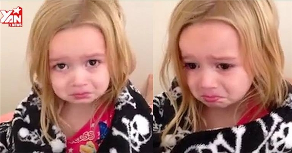 """""""Tan chảy"""" với bé gái làm nũng mẹ siêu đáng yêu"""