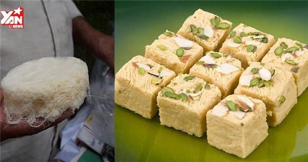 """Tròn mắt với cách chế biến kẹo kéo """"siêu độc"""" của người Ấn Độ"""