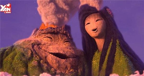 """Disney tiếp tục gây sốt với """"Chuyện tình núi lửa"""""""