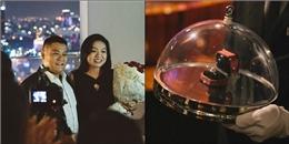 'Phát ghen' với màn cầu hôn sang trọng của cặp đôi Sài thành