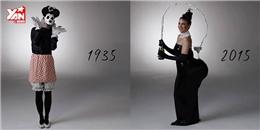 Choáng với phong cách hóa trang Halloween 100 năm qua