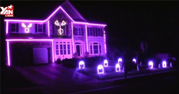 Ngôi nhà mơ ước của các tín đồ Halloween