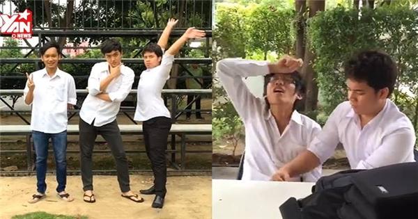 """Cộng đồng mạng """"phát sốt"""" với nhóm sinh viên """"bựa"""" nhất Thái Lan"""