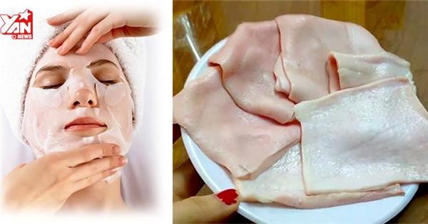 """Tự làm mặt nạ collagen tươi """"nâng cấp"""" làn da kiểu Hàn Quốc"""