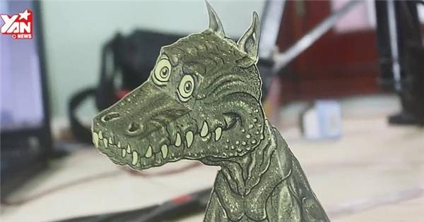 """Bật mí cách làm rồng giấy 3D """"ảo tung chảo"""""""