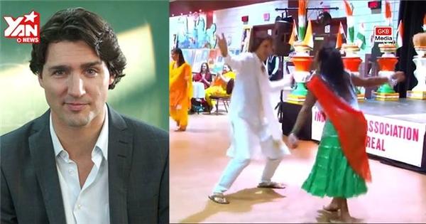 """Màn khiêu vũ """"gây sốt"""" của tân Thủ tướng điển trai nước Canada"""