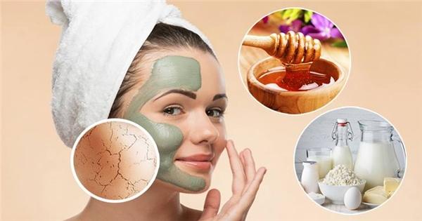 Công thức mặt nạ dưỡng ẩm giúp bạn tạm biệt làn da khô