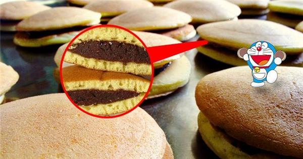 Khám phá xưởng làm bánh rán Doraemon cực hấp dẫn