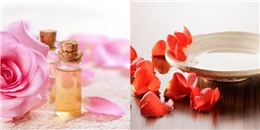 Ngỡ ngàng với những công dụng làm đẹp của nước hoa hồng