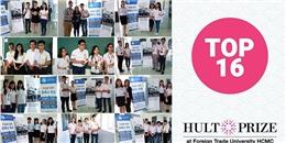 Căng thẳng trước vòng 2 cuộc thi Hult Prize