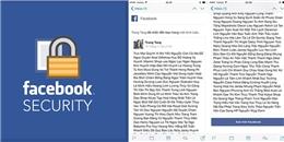 Cách chặn virus lạ hack tài khoản Facebook đang lây lan nhanh