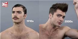 100 năm lịch sử 'tóc tai' của các đấng mày râu