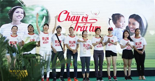 Xúc động với cuộc chạy bộ vì trái tim bệnh tật của trẻ em nghèo