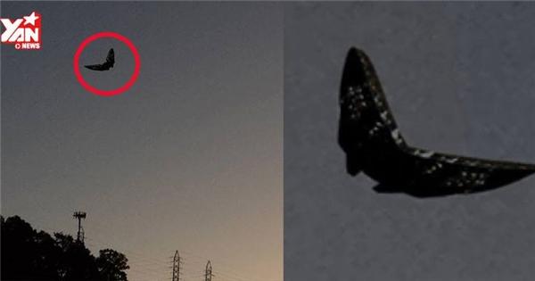 UFO lại bất ngờ xuất hiện giữa bầu trời nước Mỹ gây xôn xao