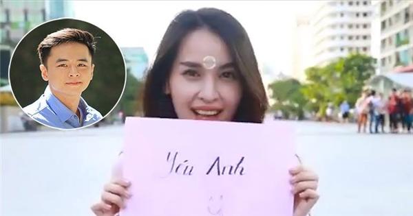 """Tú Vi tung clip """"bật mí"""" chặng đường yêu Văn Anh siêu ngọt ngào"""
