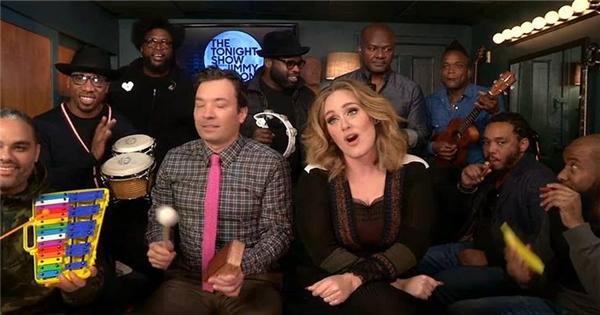 """Adele bất ngờ tự cover """"hit"""" mới của mình cực vui nhộn"""
