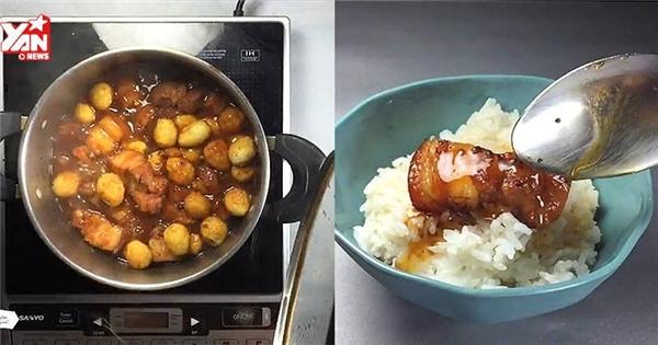 Công thức làm món thịt kho tàu ngon như mẹ nấu