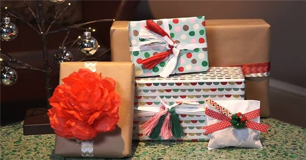 Tự tay làm 3 loại nơ trang trí hộp quà đón giáng sinh cực đẹp