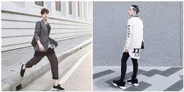 Mặc đẹp cho các chàng trai với 3 gam màu xám, đen, trắng