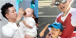 Những ông bố tuyệt vời nhất showbiz Việt 2015