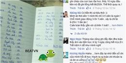 Bảng ghi tiền tiêu vặt của một cô gái khiến dân mạng thích thú