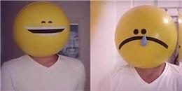 Chàng trai hút triệu lượt xem nhờ làm mặt biểu tượng cực dễ thương