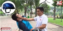 Kĩ năng thoát hiểm khi bị đánh bằng nón bảo hiểm