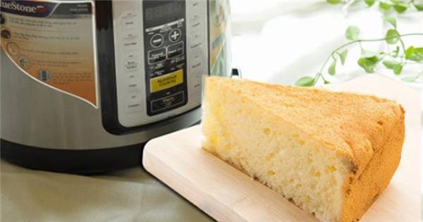 Làm bánh ga-tô bằng nồi cơm điện cực dễ