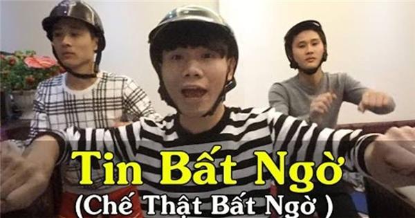 """Dân mạng Việt """"điên đảo"""" với clip chế """"Thật Bất Ngờ"""" quá hài"""